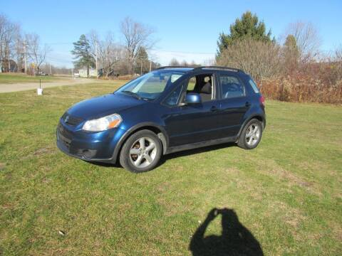 2011 Suzuki SX4 Crossover for sale at Clearwater Motor Car in Jamestown NY