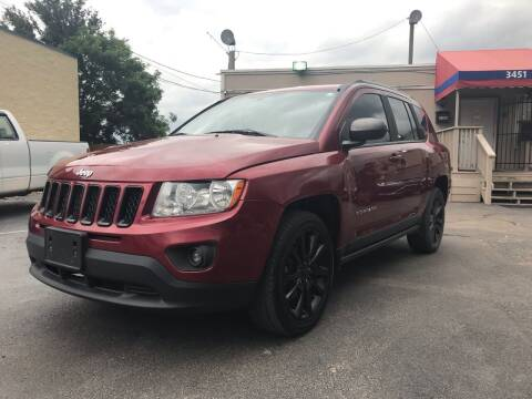 2012 Jeep Compass for sale at Saipan Auto Sales in Houston TX