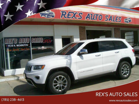 2016 Jeep Grand Cherokee for sale at Rex's Auto Sales in Junction City KS