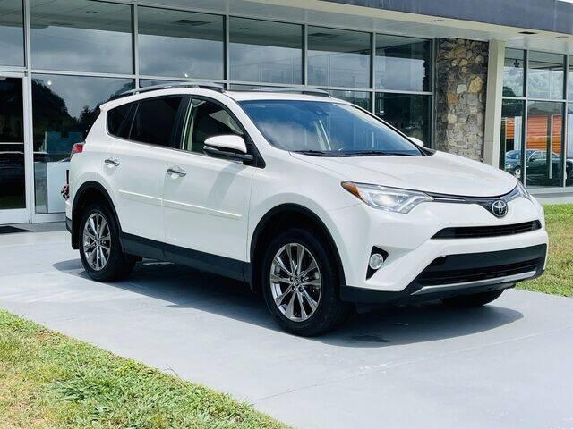2018 Toyota RAV4 for sale at RUSTY WALLACE CADILLAC GMC KIA in Morristown TN