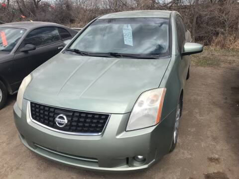2008 Nissan Sentra for sale at BARNES AUTO SALES in Mandan ND