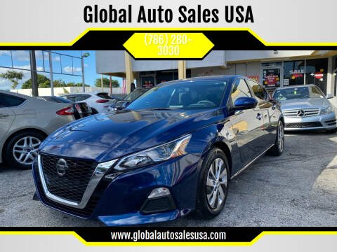 2020 Nissan Altima for sale at Global Auto Sales USA in Miami FL