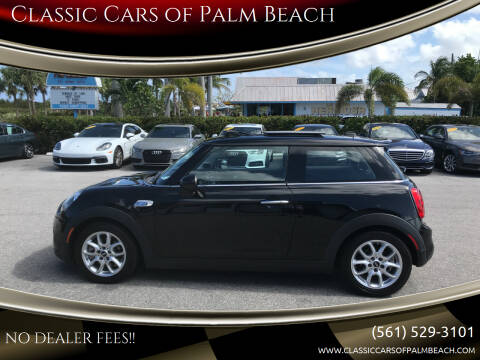 2015 MINI Hardtop 2 Door for sale at Classic Cars of Palm Beach in Jupiter FL
