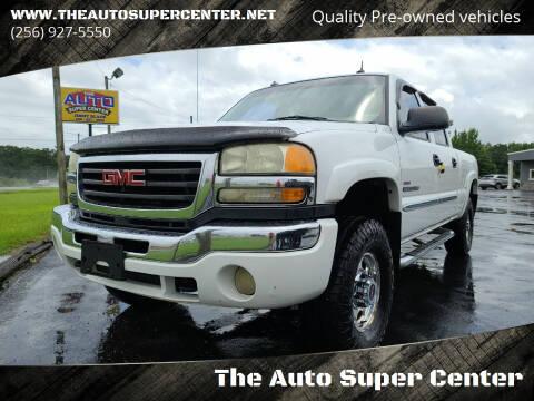 2003 GMC Sierra 2500HD for sale at The Auto Super Center in Centre AL