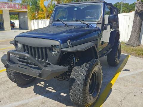 2006 Jeep Wrangler for sale at Autos by Tom in Largo FL