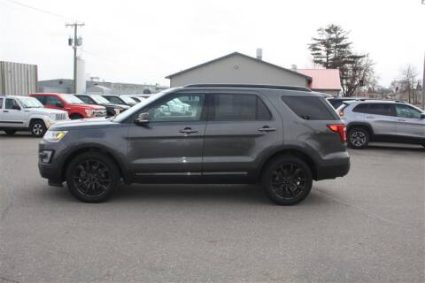 2017 Ford Explorer for sale at SCHMITZ MOTOR CO INC in Perham MN