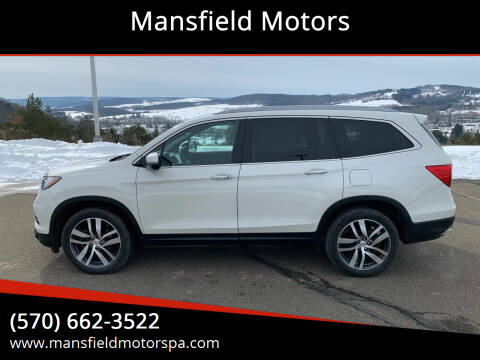 2017 Honda Pilot for sale at Mansfield Motors in Mansfield PA