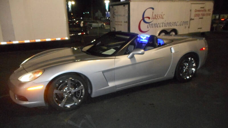 2009 Chevrolet Corvette for sale at Classic Connections in Greenville NC