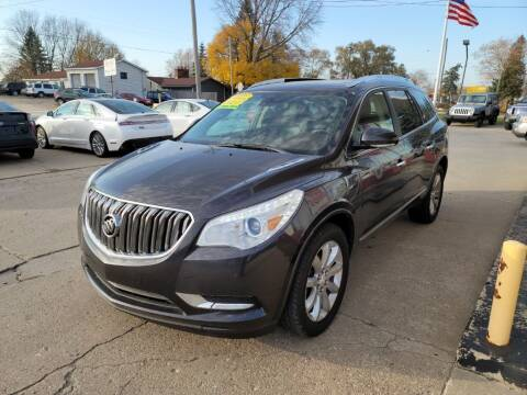 2014 Buick Enclave for sale at Clare Auto Sales, Inc. in Clare MI