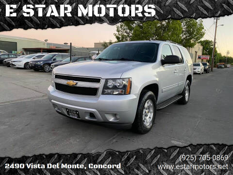 2014 Chevrolet Tahoe for sale at E STAR MOTORS in Concord CA