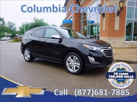 2018 Chevrolet Equinox for sale at COLUMBIA CHEVROLET in Cincinnati OH