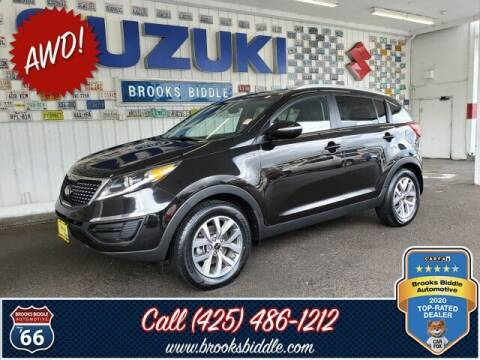 2015 Kia Sportage for sale at BROOKS BIDDLE AUTOMOTIVE in Bothell WA