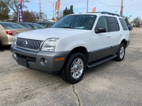 2005 Mercury Mountaineer for sale at HIGHLINE AUTO LLC in Kenosha WI