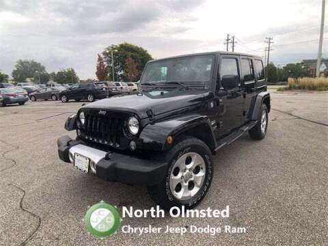 2015 Jeep Wrangler Unlimited for sale at North Olmsted Chrysler Jeep Dodge Ram in North Olmsted OH