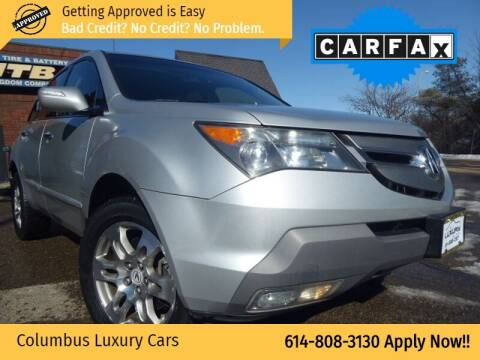 2008 Acura MDX for sale at Columbus Luxury Cars in Columbus OH