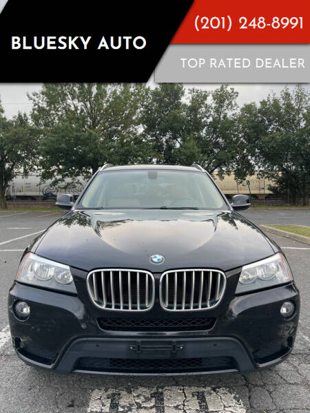 2013 BMW X3 for sale at Bluesky Auto in Bound Brook NJ