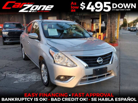 2018 Nissan Versa for sale at Carzone Automall in South Gate CA