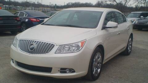 2012 Buick LaCrosse for sale at Global Vehicles,Inc in Irving TX