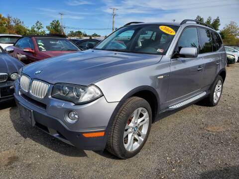 2008 BMW X3 for sale at M & M Auto Brokers in Chantilly VA