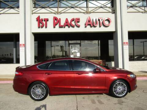 2014 Ford Fusion for sale at First Place Auto Ctr Inc in Watauga TX