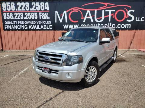 2014 Ford Expedition for sale at MC Autos LLC in Pharr TX