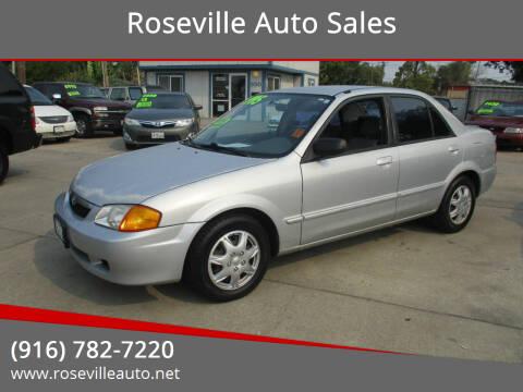 1999 Mazda Protege for sale at Roseville Auto Sales in Roseville CA