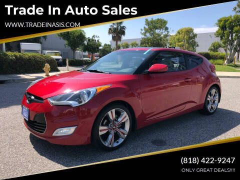 2012 Hyundai Veloster for sale at Trade In Auto Sales in Van Nuys CA