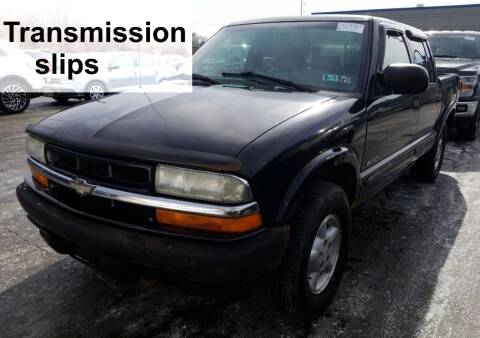 2004 Chevrolet S-10 for sale at Angelo's Auto Sales in Lowellville OH