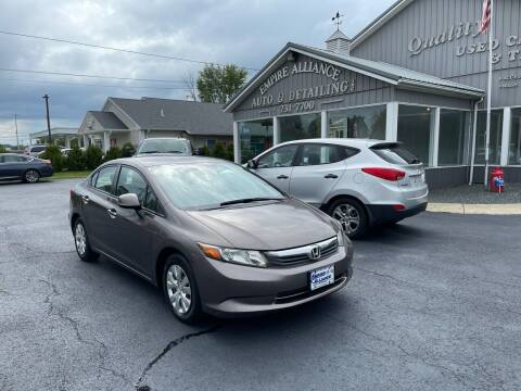 2012 Honda Civic for sale at Empire Alliance Inc. in West Coxsackie NY