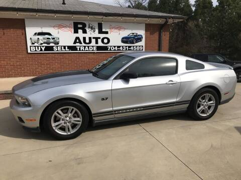 2012 Ford Mustang for sale at R & L Autos in Salisbury NC