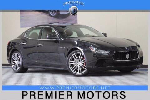 2014 Maserati Ghibli for sale at Premier Motors in Hayward CA