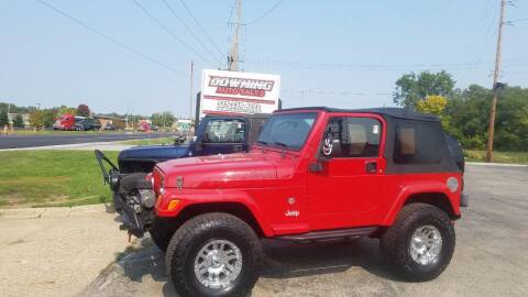 2005 Jeep Wrangler for sale at Downing Auto Sales in Des Moines IA