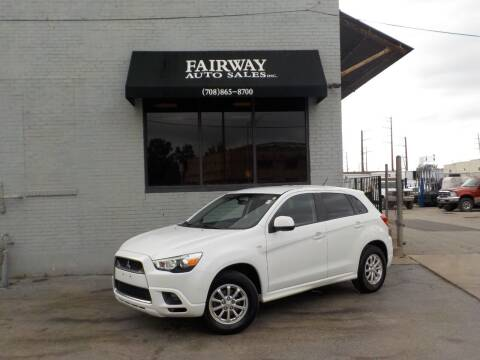 2011 Mitsubishi Outlander Sport for sale at FAIRWAY AUTO SALES, INC. in Melrose Park IL