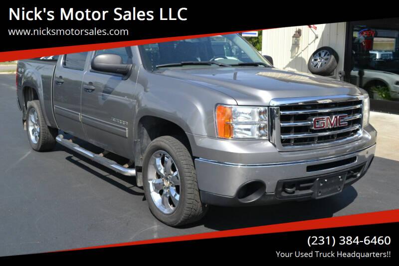 2013 GMC Sierra 1500 for sale at Nick's Motor Sales LLC in Kalkaska MI