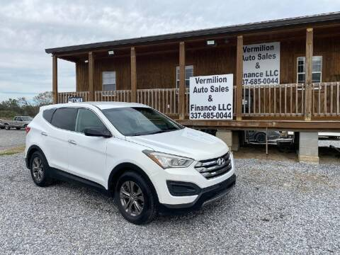 2013 Hyundai Santa Fe Sport for sale at Vermilion Auto Sales & Finance in Erath LA