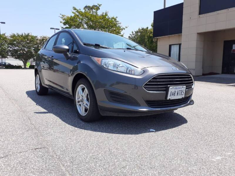 2018 Ford Fiesta for sale at A&R MOTORS in Portsmouth VA