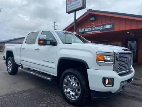 2016 GMC Sierra 2500HD for sale at HUFF AUTO GROUP in Jackson MI
