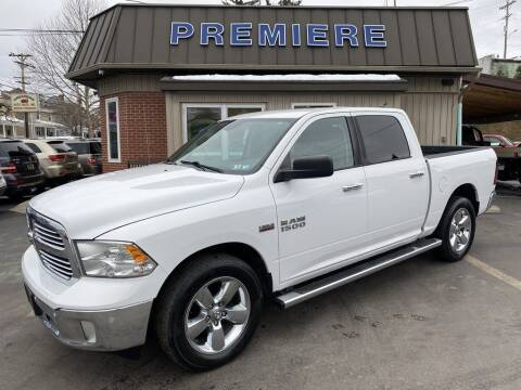 2015 RAM Ram Pickup 1500 for sale at Premiere Auto Sales in Washington PA