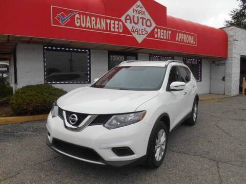 2016 Nissan Rogue for sale at Oak Park Auto Sales in Oak Park MI