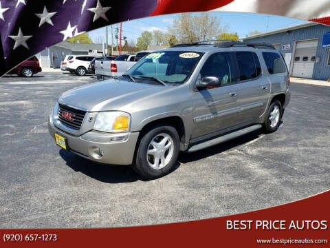 2002 GMC Envoy XL for sale at Best Price Autos in Two Rivers WI