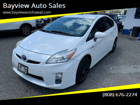 2010 Toyota Prius for sale at Bayview Auto Sales in Waipahu HI