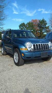 2006 Jeep Liberty for sale at Greeley's Garage in Auburn ME