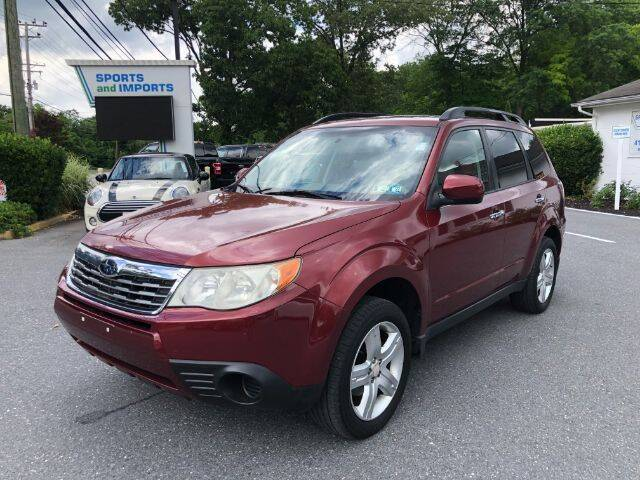 2010 Subaru Forester for sale at Sports & Imports in Pasadena MD