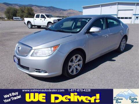 2011 Buick LaCrosse for sale at QUALITY MOTORS in Salmon ID
