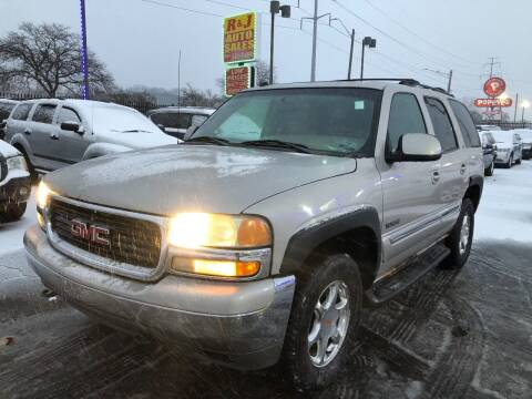 2004 GMC Yukon for sale at RJ AUTO SALES in Detroit MI