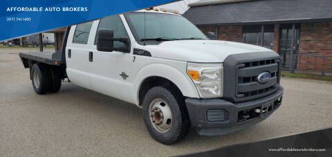 2014 Ford F-350 Super Duty for sale at AFFORDABLE AUTO BROKERS in Keller TX