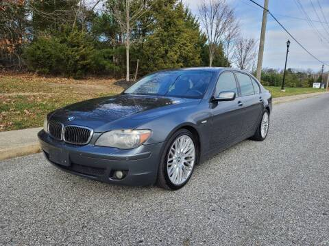 2008 BMW 7 Series for sale at Premium Auto Outlet Inc in Sewell NJ