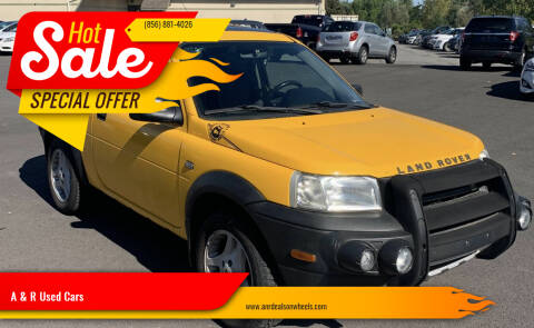 2003 Land Rover Freelander for sale at A & R Used Cars in Clayton NJ