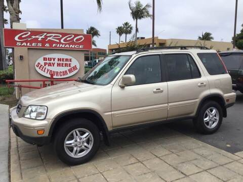 2000 Honda CR-V for sale at CARCO SALES & FINANCE #2 in Chula Vista CA