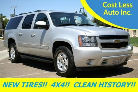 2011 Chevrolet Suburban for sale at Cost Less Auto Inc. in Rocklin CA